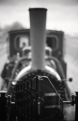 Steam Train (Komatsu 1000) Tags: 125 9minutes 50mmf1leicanoctiluxe60 ilforddelta100 leicam3 rodinal