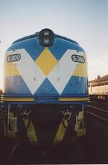 S300 Warrnambool (tommyg1994) Tags: west coast railway wcr emd b t x a s n class vline warrnambool geelong b61 b65 t369 x41 s300 s311 s302 b76 a71 pcp bz acz bs brs excursion train australia victoria freight fa pco pcj