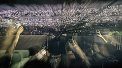 U2 - double exposure - lights - Morumbi Stadium/SP - Brazil (Enio Godoy - www.picturecumlux.com.br) Tags: 16x9 abstractart sãopaulosp abstract abstraction canon morumbistadium niksoftware abstractrealism brazil lights analogefexpro2 u2 show music canong15 night doubleexposure
