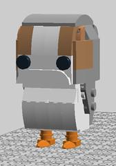 brickheadz porg V2 (Gaé7) Tags: star wars lego porg ldd brickheadz