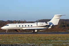 T7-BSA | Gulfstream G450 | Private (james.ronayne) Tags: aeroplane airplane plane aircraft private vip executive corporate luton ltn eggw canon 80d 100400mm