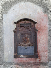 Wall 11 - no post today (Jackie & Dennis) Tags: aostavalley italy old letterbox