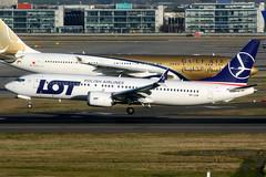 LOT Polish Airlines | Boeing 737-8 | SP-LVB | London Heathrow (Dennis HKG) Tags: lot polish polishairlines poland lo aircraft airplane airport plane planespotting staralliance canon 7d 100400 london heathrow egll lhr boeing 737 7378 boeing737 boeing7378 737max boeing737max splvb