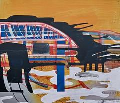 Jim Harris: Die Harmonie der Welt (Jim Harris: Artist.) Tags: art kunst painting arte lartabstrait peinture maalaus malerei málverk modernart makabe abstractart zeitgenössische taide