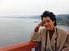 BrendaGGBridge010585a (homeboy63) Tags: winter 1985 brendaovalle sf goldengatebridge ocean