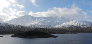 South Shiel Ridge, Cluanie, Highlands of Scotland, Feb 2018