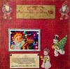 Ringing In Christmas Cheer (No Talent Bum) Tags: cricut diecuts christmas snowmen gnomes scrapbook scrapbookpages scrapbooks scrapbooking