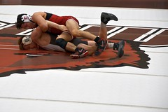 BRO-STA 141 2018-01-13 DSC_8080 (bix02138) Tags: brownuniversity brownbears stanforduniversity stanfordcardinal pizzitolasportscenter pizzitolasportscenterbrownuniversity providenceri january13 2018 wrestling sports intercollegiateathletics athletes jocks ©2018lewisbrianday 141pounds 141 isaiahlocsin jimmypawelski