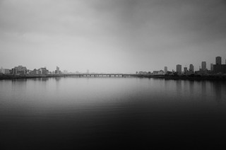 Silence of a big city  (Osaka Japan)