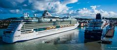 2017 - Regent Cruise - Antigua - St. John's Port (Ted's photos - For Me & You) Tags: 2017 antigua cropped nikon nikond750 nikonfx regentcruise stjohn'santigua tedmcgrath tedsphotos vignetting zenith pullmantur jeweloftheseas msjeweloftheseas royalcaribbean royalcaribbeanjeweloftheseas regent explorerregent explorerseven seas explorershipportshadowsboatboatsshipscruise shipcruise shipsropesdockpierst johns portheritage quayst heritage quay lifeboats bollards nevisstreetpier