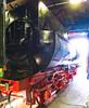 Der Tender der Dampflokomotive 52 8177 im Ringlokschuppen des Bahnbetriebswerkes Berlin-Schöneweide (Jonny__B_Kirchhain) Tags: tender schlepptender dampflokomotive lokomotive 528177 kriegslokomotive baureihe52 rekolokomotive drbaureihe5280 ringlokschuppen lokschuppen bahnbetriebswerk bahnbetriebswerkberlinschöneweide betriebswerk tagdesoffenendenkmals denkmal berlin schöneweide berlinschöneweide treptowköpenik berlintreptowköpenik bezirktreptowköpenik deutschland germany allemagne alemania germania 德國 德意志 федеративная республика германия alemanha repúblicafederaldaalemanha niemcy republikafederalnaniemiec locomotive wheel