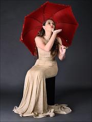 _DSC8662aa - Emma with Golden Gown. (henryhulley) Tags: teenmodel beautifullady beautifulmodel beautifulgown beautifulgirl beautifuleyes beautifulsmile beautifulteen nikond300 nikon nikonuser portraiture posing perfectportraits pose studiolight studio studiolighting stunningmodel stunning pretty prettygirl brunette goldengirl gorgeousgirl gorgeous red redlips redumbrella seated