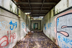Entrance... (aphonopelma1313 (suicidal views)) Tags: urbex urbexpeople verfall leerstand zombie abandoned urbanexploration exploring urbexplaces decay igurbex rottenworld urbanart explorer photography verlassen schandfleck explore everything lost canon ruins forgotten urbanstreet urbanphotography love industrial nrw architektur mycity forbiddenplaces