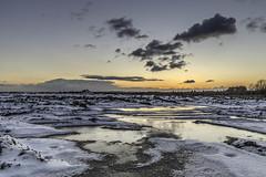 Rainhill sunset (Steve Samosa Photography) Tags: winter winterscene wintersun sunset snow snowscene