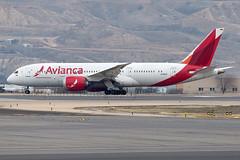 N794AV Avianca B787-8 Madrid Barajas Airport (Vanquish-Photography) Tags: n794av avianca b7878 madrid barajas airport lemd mad madridbarajas madridbarajasairport