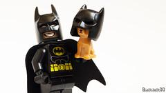 My new gadget, the Batdog (black.zack00) Tags: batman dccomics comic dog batdog lego minifig toy afol funny humour photography minifigure chiuahua
