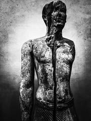Split personality. (ethan.arreola) Tags: themet newyork newyorkcity museum art blackandwhite bnw monochrome pinhole