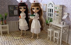 Enfermeiras (MUSSE2009) Tags: pullip doll toys dolls groove nurses enfermeiras