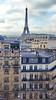 272 Paris Janvier 2018 - les toits de Paris vus depuis la terrasse du 50 avenue des Champs-Elysées (paspog) Tags: paris france toits roofs decken champselysées janvier january januar 2018