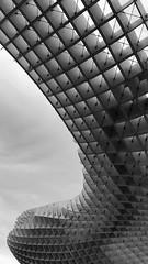 S (javitm99) Tags: s b n w bn bw blanco negro gris black white grey metropol parasol setas sevilla seville spain españa encarnación