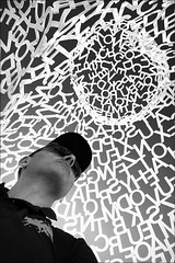 the sun of krypton (bostankorkulugu) Tags: selfportrait selfshot selfie antibes nomade jaumeplensa bastionsaintjaume france frenchriviera cotedazur letters sculpture art artwork