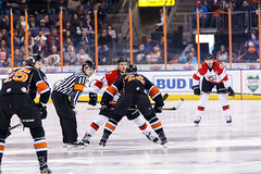 "Kansas City Mavericks vs. Cincinnati Cyclones, February 3, 2018, Silverstein Eye Centers Arena, Independence, Missouri.  Photo: © John Howe / Howe Creative Photography, all rights reserved 2018. • <a style=""font-size:0.8em;"" href=""http://www.flickr.com/photos/134016632@N02/40086503112/"" target=""_blank"">View on Flickr</a>"