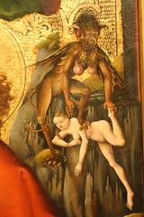 Legion Of Honor - Painting Detail (Donald Deveau) Tags: demon monster painting art legionofhonor museum sanfrancisco devil