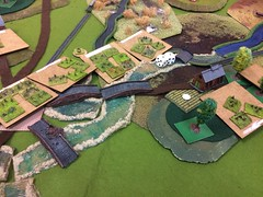 5 The situation at halftime (bbbchrisp) Tags: carentan normandy 1944 wargame battle scenario bbb bloody big battles 6mm
