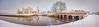 Chambord-neige-fev18-076-Panorama-1700 (Diane de Guerny) Tags: chambord neige paysage snow castle château de architecture snowy cold history france loire hiver winter froid