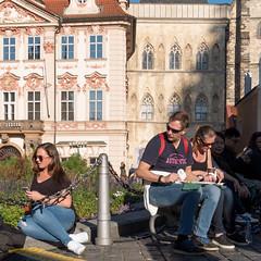 Tourists (jarimakila) Tags: czechrepublic prague tsekki praha hlavníměstopraha czechia cz