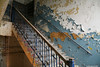 Stairs At Schulze (nitram242) Tags: abandoned chicago bakery schulze data company baking bread biscuit