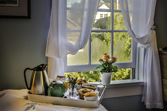 BREAKFAST in BED or BED and BREAKFAST? (LOURENḉO Photography) Tags: hotel art visit vacation travel bednbreakfast seagullbb sea gull seagull mendocino california coast relax beautiful color colorful people place sunrise breakfast view fun relaxing wedding