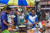 Good Morning Mumbai ! (miriam ulivi) Tags: miriamulivi nikond7200 indiadelsud mumbai bombay dadarmarket people food fritters streetphotography stphotographia