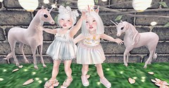 L.O.T.D. 02.18.18 (Emery/Teagan Parker) Tags: colormecute ribbons wildflowers clairdelune toddleedoo unicorn pretty adorable doe prtty