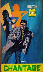 Multon FBI 23 (Boy de Haas) Tags: vintage paperbacks vintagepaperbacks 1960s sixties