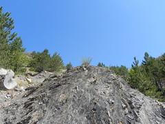 DSCN9573 (Gianluigi Roda / Photographer) Tags: apennines latesummer summer 2012 mountains geologicalevidences geologicaloutcrops trees rocks landscapes appenninobolognese crocedeicolli