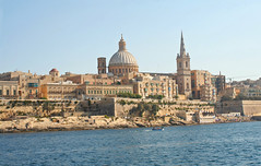 St Pauls Cathedral, Malta (big_jeff_leo) Tags: city capital cityscape europe mediterranean building stone old classic