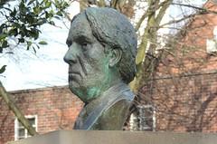 Jerome K Jerome - Walsall Arboretum Bust 006 (touluru) Tags: brownhills lichfield walsall west midlands ws jerome k three men boat arboretum bust