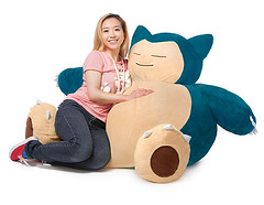 Pokeon Snorlax Bean Bag (mywowstuff) Tags: gifts gadgets cool family friends funny shopping men women kids home