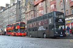 Edinburgh Ghost Bus GH52BUS (Will Swain) Tags: edinburgh 25th november 2017 tour bus buses transport travel uk britain vehicle vehicles county country scotland scottish north northern central city centre ghost gh52bus lg52dcf arriva london dla330 capital