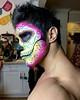 IMG_9924 (danimaniacs) Tags: shirtless hunk man guy chicosangels dukeshoman diadelosmuertos dayofthedead colorful makeup