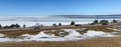 Picture of LOOKING AT LITTLE TRAVERSE BAY WITH AUTOS. (Tim Kiser) Tags: 2017 20170218 bayviewroad emmetcounty emmetcountymichigan emmetcountylandscape february february2017 greatlakes greatlakeslandscape highway31 img1367 lakemichigan lakemichiganlandscape lewisstreet littletraversebay littletraversebaylandscape michigan michiganlandscape petoskey petoskeymichigan petoskeylandscape quarrypark rosestreet route31 us31 ushighway31 usroute31 bay baylandscape cars cloudlesssky distantlighthouse landscape lighthouse meltingsnow northmichigan northernlowerpeninsula northernmichigan northernmichiganlandscape passingcars road roadlandscape snowylandscape sunnylandscape traffic winterlandscape unitedstates us