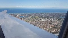 Adelaide from the air (cathm2) Tags: australia aerial flying plane travel southaustralia adelaide sea coast