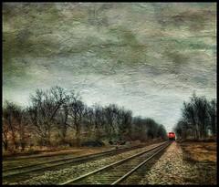 """I hear the train a comin'..."" (Sherrianne100) Tags: railroad traintrack train springfieldmo missouri"