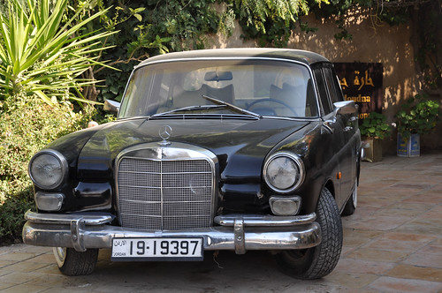 old mercedes, Madaba