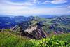 Hoher Freschen (basic hiking) Tags: binnelgrat hoherfreschen alpen alps bergwandern mountains hiking öav bregenzerwald bregenzforestmountains vorarlberg bodensee lakeconstance panorama landscape sel1018 a5100 ilce5100 sonyalpha