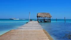 Belize - Feb 2016 (Keith.William.Rapley) Tags: cayecaulker island rapley keithwilliamrapley february feb 2016 centralamerica woodenpier pier jetty woodenjetty