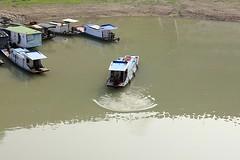 Docked Boats (oxfordblues84) Tags: peoplesrepublicofchina china oat overseasadventuretravel victoriacruises victoriajenna victoriajennacruise riverboatcruise rivercruise yangtzerivercruise yangtzeriver river water dock boats chineseboats