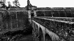 CITADELLE DE BLAYE (marsupilami92) Tags: france frankreich aquitaine blaye citadelle rempart gironde 33 sudouest noiretblanc allfreepicturesjanuary2018challenge