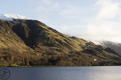 Rannerdale & Low Bank (JoshJackson84) Tags: canon60d sigma18250mm europe uk england cumbria lakes lakedistrict buttermere rannerdale lowbank landscape sun winter lake hill fell mountain